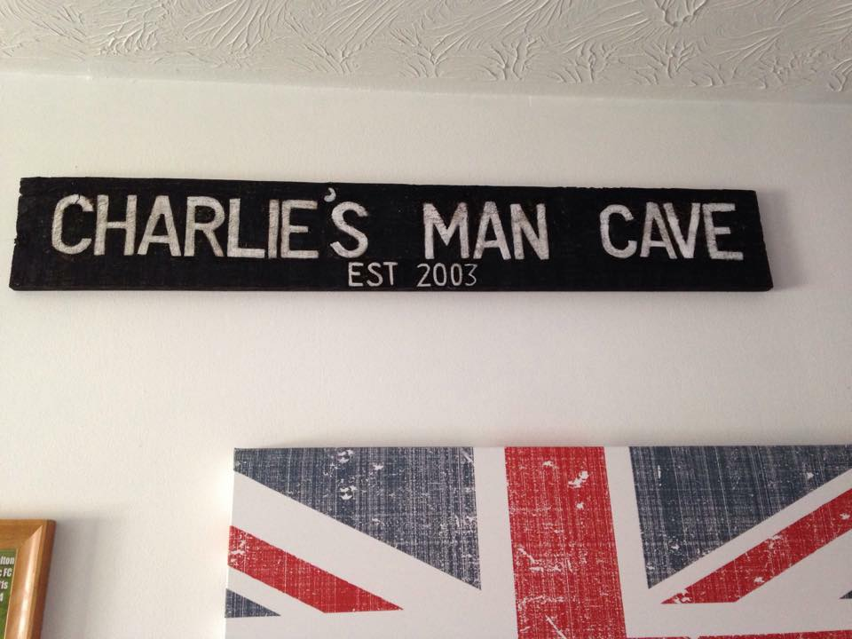 Man Cave Signs Personalized Uk : Gallery rustic gems by gemma